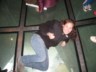 The Glass Floor on the CN Tower