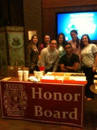 The Honor Board Crew at the Event