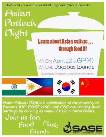 Asianpotlucknight